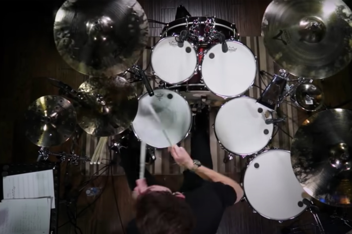 Drum Cover Eye Of The Tiger Drumzine Play The Rhythm Of Life